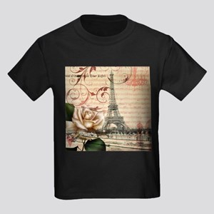 vintage eiffel tower paris T-Shirt