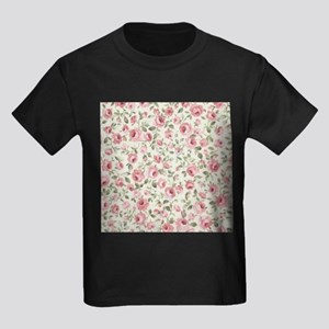 Shabby Sweet Petite Pink Roses T-Shirt