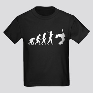 Guitar Player Kids Dark T-Shirt