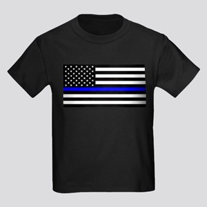 Police: Black Flag & The Thin Blue Line T-Shirt