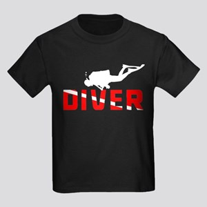 Diver Kids Dark T-Shirt