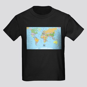 the small world Kids Dark T-Shirt