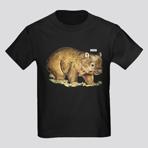 Wombat Animal Kids Dark T-Shirt