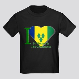 I Love St Vincent & The Grenadines T-Shirt