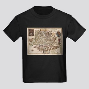 Vintage Map of Virginia (1630) T-Shirt