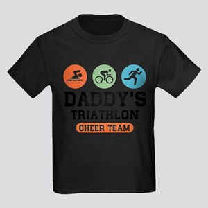 Daddy's Triathlon Cheer Team T-Shirt
