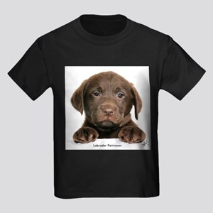 Chocolate Labrador Retriever puppy 9Y270D-050 T-Sh