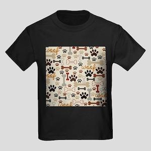 9c4b52baf810 Paw Print Kids T-Shirts - CafePress