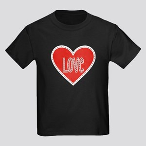 Love Valentines Day Heart 3 T-Shirt