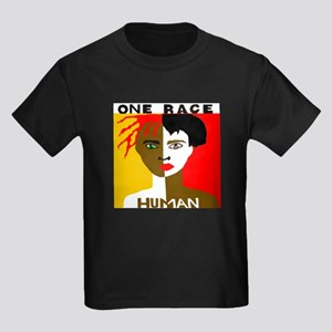 Anti-Racism Kids Dark T-Shirt