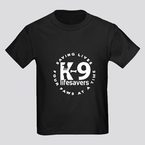 Final_Logo_for_K-9_lifesavers_BLACK_SHIRT T-Shirt
