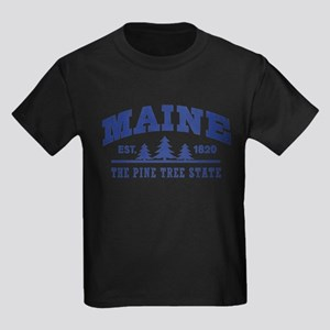 Maine Est. 1820 Kids Light T-Shirt