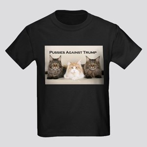 Pussies Against Trump Kid's T-Shirt
