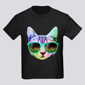 Rainbow Music Cat T-Shirt