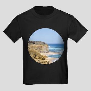 Australia Coastline Kids Dark T-Shirt