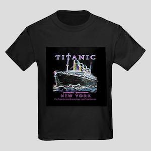 Titanic Neon (black) Kids Dark T-Shirt