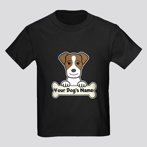 Personalized Jack Russell Kids Dark T-Shirt