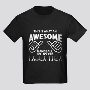 This is what an awesome Handball Kids Dark T-Shirt