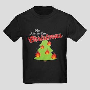 Blackish Dre Christmas Kids Dark T-Shirt
