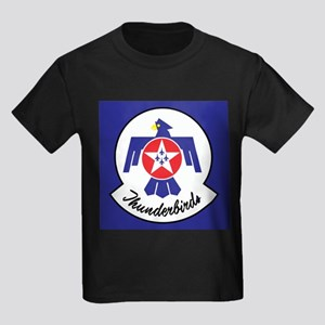 U.Sr Force Thunderbirds Kids Dark T-Shirt
