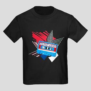 Pepsi Flashback Cassette Kids Dark T-Shirt