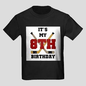 Hockey 8th Birthday Kids T-Shirt