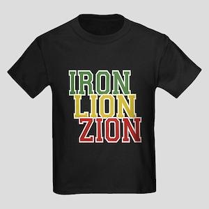 Iron Lion Zion Kids Dark T-Shirt