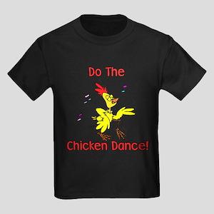 Do the Chicken Dance! Kids Dark T-Shirt