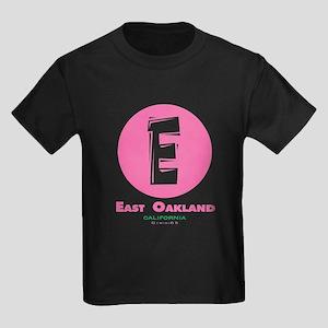 The Funky side of East Oaklan Kids Dark T-Shirt