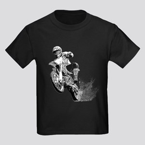 Dirtbike Wheeling in Mud T-Shirt