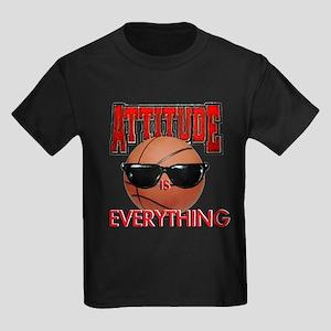 Attitude is Everything Kids Dark T-Shirt