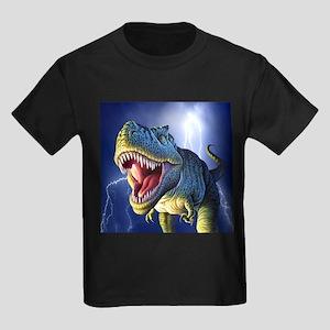T-Rex 5 Kids Dark T-Shirt