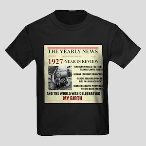 born in 1927 birthday gift Kids Dark T-Shirt