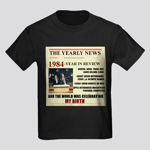 born in 1984 birthday gift Kids Dark T-Shirt