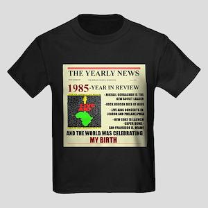 born in 1985 birthday gift Kids Dark T-Shirt