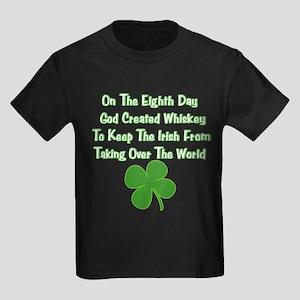 Irish Whiskey Kids Dark T-Shirt