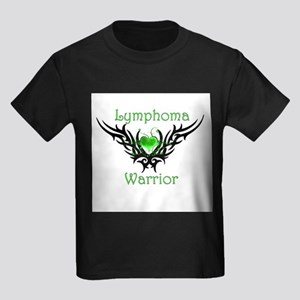 Lymphoma Warrior Kids Dark T-Shirt