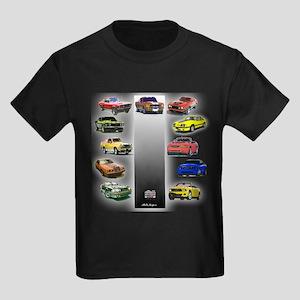 Mustang Gifts Kids Dark T-Shirt