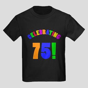 Rainbow 75th Birthday Party T-Shirt
