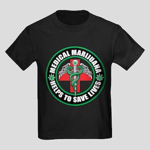 Medical Marijuana Helps Kids Dark T-Shirt