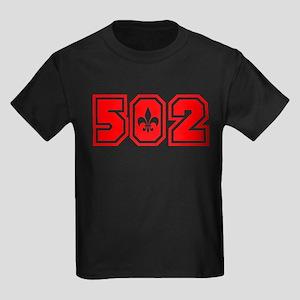 502 red Kids Dark T-Shirt