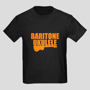 baritone ukulele Kids Dark T-Shirt