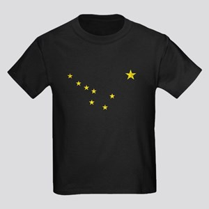 Vintage Alaska Kids Dark T-Shirt