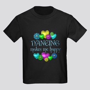 Dancing Happiness Kids Dark T-Shirt
