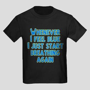 Feeling Blue Kids Dark T-Shirt