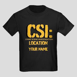 Customizable CSI Kids Dark T-Shirt