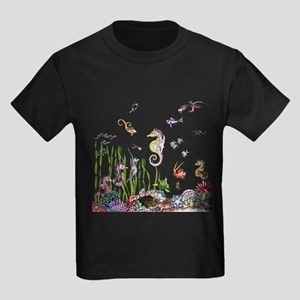 Ocean Life Kids Dark T-Shirt