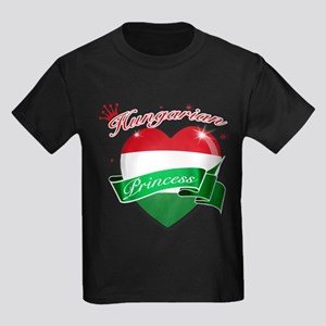 Hungarian Princess Kids Dark T-Shirt