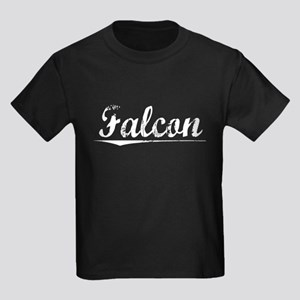 Falcon, Vintage Kids Dark T-Shirt