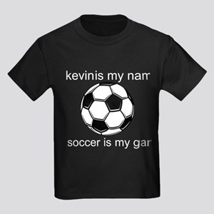 Soccer Is My Game Kids Dark T-Shirt